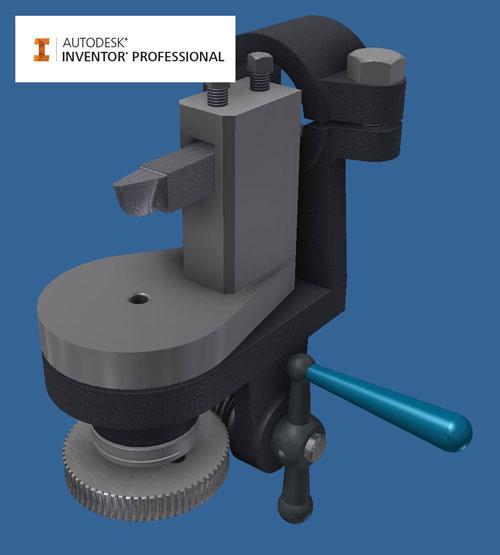 inventor 3d модель