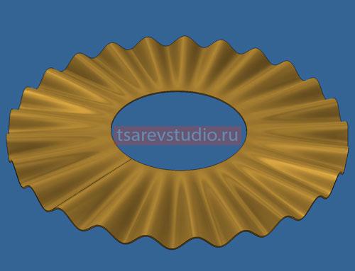inventor волнистый диск