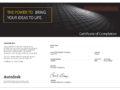 Сертификат по AutoCAD